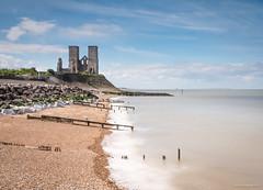 Reculver (Mr Aylesbury) Tags: spring england church water dmcgx8 10stopfilter kent longexposure 2017 ruins uk reculver beach panasonic lumix karlvaughan seaside