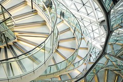 Curves (Future-Echoes) Tags: 4star 5star 2016 architecture building cityhall curves glass light lines london reflections white