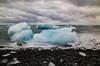 Iceland (rafpas82) Tags: iceland southeasticeland jokulsarlon ice volcanicsand icebergs stones sky water sea atlanticocean clouds nuvole sabbianera ghiaccio islandia d7000 nikond7000 nikon 1770sigmacontemporary 1770sigma 1770