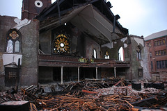 Bethlehem Luthern Church (pasa47) Tags: lost demo spring unitedstates rip stlouis landmark demolition missouri northside april hydepark stl destroyed 2014 northstlouis bethlehemlutheranchurch