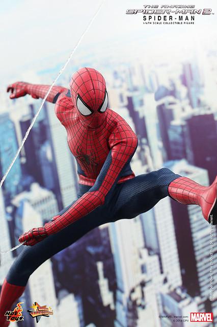 Hot Toys - MMS244 - 《蜘蛛人驚奇再起2:電光之戰》1/6比例蜘蛛人