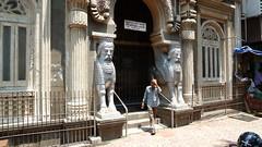 Templo parsi (Juan Hache) Tags: india mumbai backpacker
