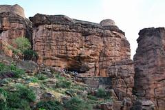 India - Karnataka - Badami Caves - Overview - 5 (asienman) Tags: india architecture caves karnataka badami chalukyas vatapi asienmanphotography