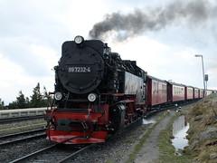 Brocken by Thomas Pöschel - 99 7232-4 fährt auf dem Brockenbahnhof ein