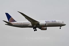 United Airlines Boeing 787-8 Dreamliner  N27903 (EK056) Tags: london airport heathrow united boeing airlines dreamliner 7878 n27903