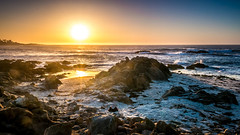 17 Miles Drive sunset (The Passion of Light captured by Patrick Schoerg) Tags: ocean california city travel sunset sky panorama usa colour clouds america landscape coast monterey unitedstatesofamerica cliffs bluehour amerika panorma goldenstate 17milesdrive thepassionoflight potd:country=de