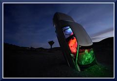CarLightPainting_3202 (bjarne.winkler) Tags: light car painting forrest nv goldfield