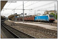 E 483.101 NC (Roberto Drigo) Tags: padova 2014 treni ferrovie nikond300 e483 trenimerci nordcargo robertodrigo ddphotogallery
