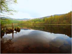 Loch Milldam (eric robb niven) Tags: cycling scotland landscapes dundee perthshire loch dunkeld milldam ericrobbniven lumixfz72