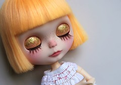 Clara's eyelids ;)