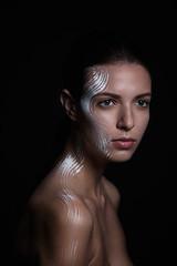 DIGITAL RETOUCH (sergiopacussich) Tags: beauty fashion photomanipulation photoshop hair model eyes women skin db burn dodge retouch highend 2014 retoque modelmayhem retoquedepiel