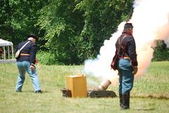 Firing the Mortar (jsbuys) Tags: virginia civilwar artillery 1864 coldharbor150th