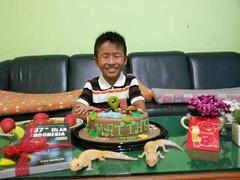 Reptile Cake for Matthew's Birthday (Dapur Solia) Tags: snake birthdaycake gecko ular cicak kadal reptilecake dapursolia