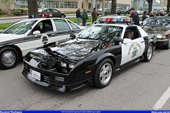 California Highway Patrol Chevrolet Camaro (Seluryar) Tags: california chevrolet highway memorial peace cleveland parade camaro chp patrol officers 2014