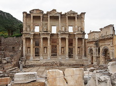Turkey 2014 (hunbille) Tags: turkey library selcuk ephesus celsus efes libraryofcelsus
