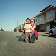 (davidteter) Tags: sanfrancisco boy portrait woman william lydie yashicamat124g anzavista kodakektar100