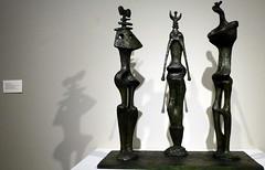 """Three Standing Figures,"" Bronze sculptures by Henry Moore, Chazen Museum of Art (ali eminov) Tags: wisconsin visualarts arts madison museums sculptures henrymoore sculptors bronzesculptures chazenmuseumofart threestandingfigures"
