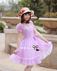 Sweet Princess Chiffon Lolita OP Dress (lindasunx) Tags: dress lolita lolitadress lolitadresses