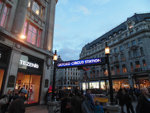 TfL - Oxford Circus Station by Gene Hunt, on Flickr