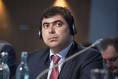 Huseyn Salamov at the Closed Ministerial Session