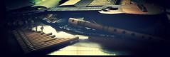 Charango y flautas andinas sobre la mesa (jantoniojess) Tags: music andeanmusic musicalinstruments charango quena sikus rondador msicaandina flautaandina purpuritay andeanflutes