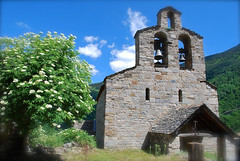 Santa Maria de Cardet (Xevi V) Tags: church catalonia catalunya pirineus romnic valldebo vftw pirineucatal santamariadecardet