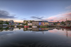 Kinvara Village - County Galway (Gareth Wray - 13 Million Views, Thank You) Tags: ocean county wood ireland sunset red sea summer vacation sky irish sun holiday seascape reflection castle galway nature pool set strand docks sunrise reflections way landscape island photography coast pier boat wooden site nikon europe ship photographer village horizon scenic award visit row tourist calm quay atlantic pirate fox hd colourful nikkor rise docked scape gareth hdr yaught wray kinvara strabane dunguaire kinvarra 1024mm dungory d5300 hdfox