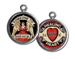PU068- healing heart (ToadHollowNJ) Tags: jewelry charms pickupsticks redbanknj toadhollow photocharms toadhollownjcom
