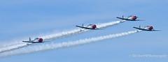 Sky Typers (Mellon 99) Tags: sky canon aircraft air airshow f16 thunderbirds airforce mellon99photography davemellon