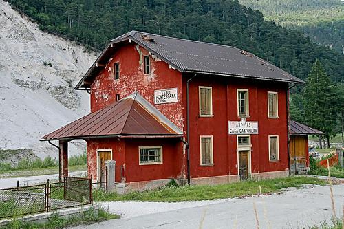 S.S. Pontebbana Casa Cantoniera Friuli