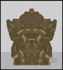 ms paint GRAVEN IMAGE (waynekelley@ymail.com) Tags: abstract weird digitalart gradient mspaint