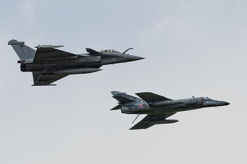 Dassault Super Etendard Modernisé and Dassault Rafale M - 1