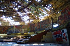 Lurkers of the World (AdamJiaoshi) Tags: graffiti europe decay bulgaria easterneurope abandonedbuilding buzludzha