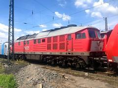 232 201-4 DB Schenker - Seelze depot 15.06.14 (Paul David Smith (Widnes Road)) Tags: 230 130 rbf 232 lud ludmilla seelze baureihe br242 class242 class232 db232 dbagclass242