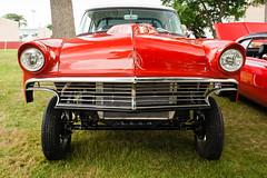 1956 Ford Gasser (hz536n/George Thomas) Tags: summer copyright ford june canon michigan canon5d flint gasser 2014 ef1740mmf4lusm cs5 sloanmuseum sloanmuseumautofair sloan2014