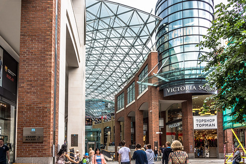 VICTORIA SQUARE SHOPPING CENTRE IN BELFAST