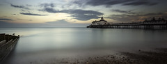 Twilight at Eastbourne Pier (JamboEastbourne) Tags: sea england sussex pier seaside twilight long exposure east le eastbourne