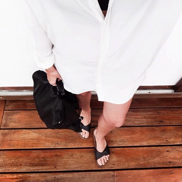 963198af0c5d ... blogger australia sass bide wide leg silk pants faddoul label top zara.  Yesterday s lower details...  fromwhereistand  ootd  latergram  birkenstocks    ...