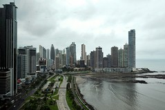 Panama City as Seen From Secretary Kerry's Hotel Before Panamanian Presidential Inaugural Festivities
