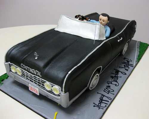 Lincoln Continental Car Cake med