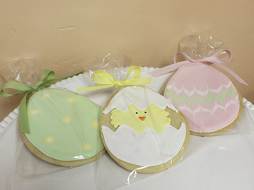 Easter Egg Decorated Sugar Cookies