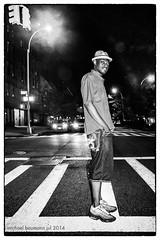 cool gregory (michael baumann) Tags: street nyc newyork night harlem jazz latenight uptown singer actor crosswalk cooldude 2014 parisblues michaelbaumann gregorybastien harlemjazz newyorkcityjazz