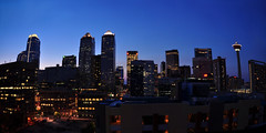Calgary Skyline at night (Surrealplaces) Tags: canada calgary skyline downtown cityscape alberta