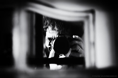 My reflection (Lifeinpicture) Tags: street bw reflection window glass contrast frame umbria umbriajazz selfie