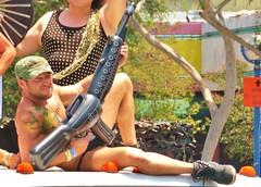 LAPride2 2014 437 (danimaniacs) Tags: shirtless man hot sexy guy smile tattoo beard losangeles hunk parade gaypride westhollywood stud csw tats tatts lapride22014