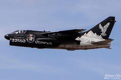 Greece Air Force --- LTV A-7E Corsair II --- 160616 (Drinu C) Tags: plane aircraft military sony special corsair dsc ffd fairford riat ltv hellenicairforce theroyalinternationalairtattoo greeceairforce a7e egva 160616 hx100v adrianciliaphotography