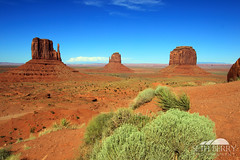 Monument Valley - The Mittens (Seth Berry Photography) Tags: arizona usa west monument utah native nation american valley western navajo monumentvalley reservation sethberryphotography