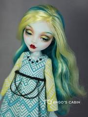 145MHLydia (3) (mango20060311) Tags: art monster high doll ooak mango repaint monsterhigh