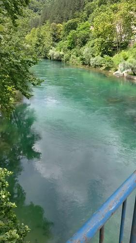 Srbljani - most čez reko Uno