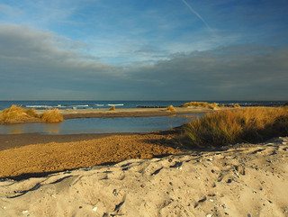 Wintery Baltic Sea view
